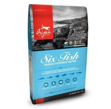Orijen Six Fish Dry Dog Food Reviews